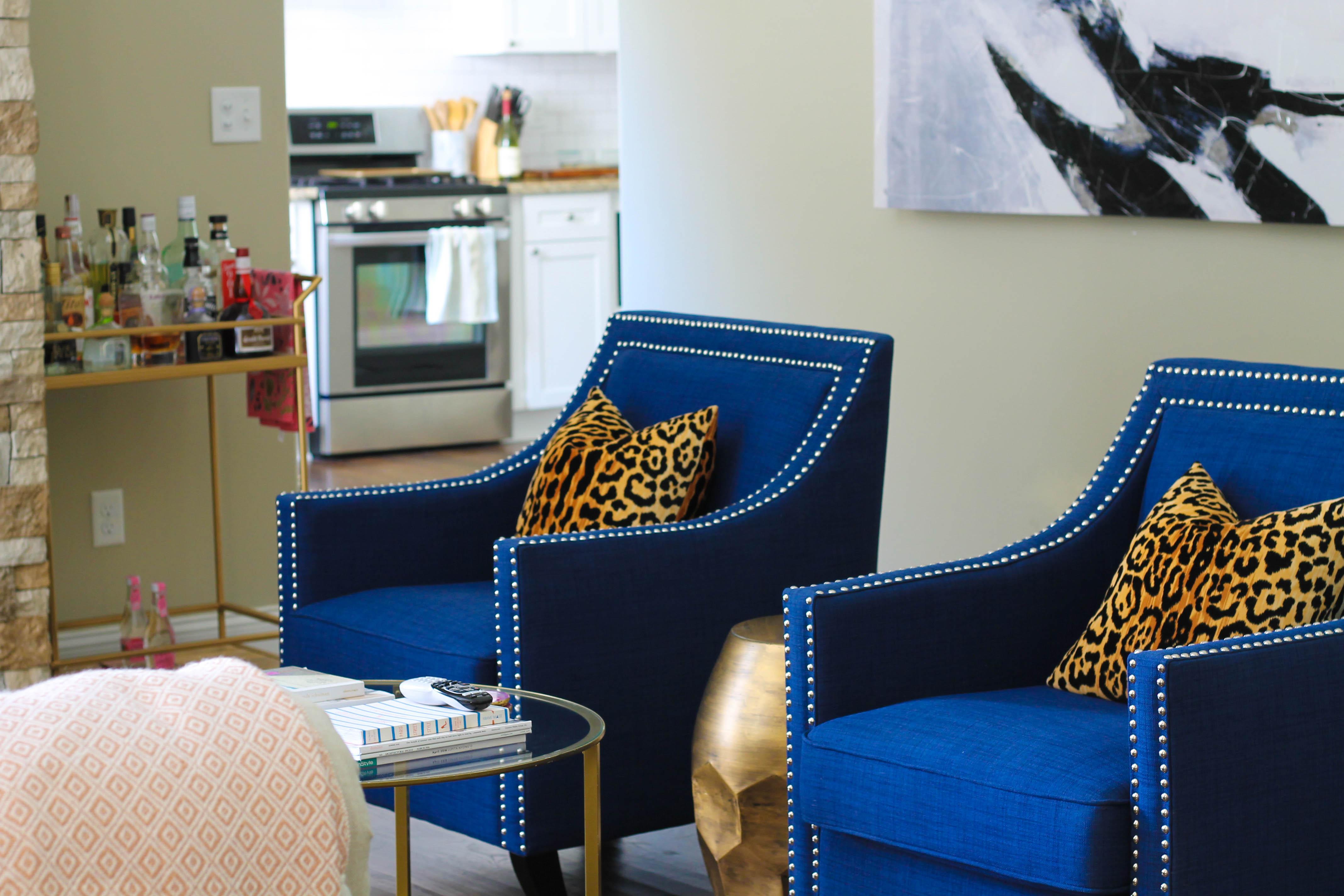 ecelctic living room
